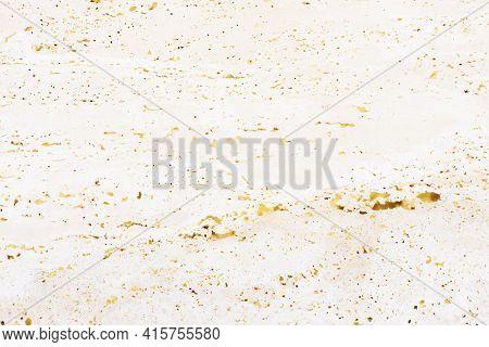 Sandstone Mineral Texture. Grain Rock Background. Yellow Marble Pattern. Noise Granite Texture. Beig