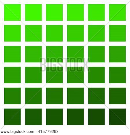 Green Color Palette Vector Green Vegetation Grass Color Palette