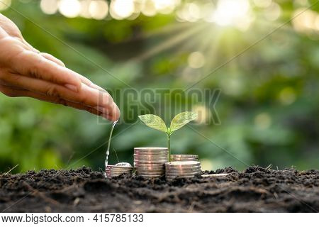 Cropping On The Pile For Business, Savings And Economic Growth.