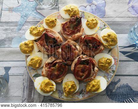 Easter Appetizer Boiled Eggs Easter Appetizer Boiled Eggs