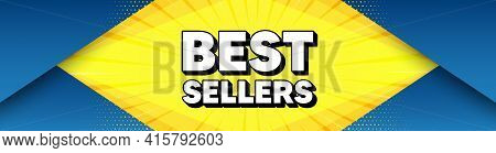 Best Sellers. Modern Background With Offer Message. Special Offer Price Sign. Advertising Discounts