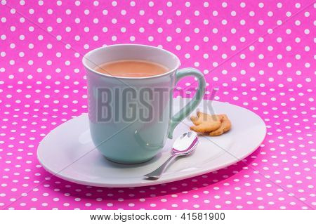Engish Tea And Short Bread Cookies