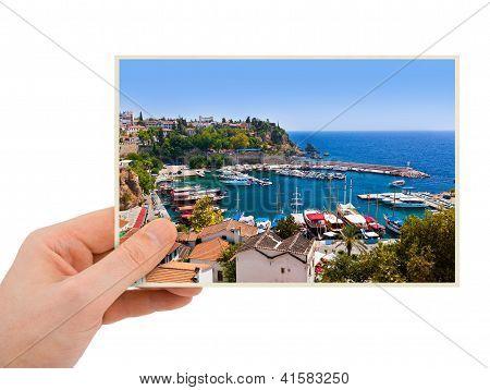 Antalya Turkey Photography In Hand