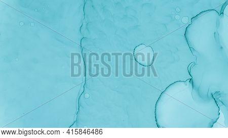 Watercolour Wave Background. Watercolour Paint Illustration. Alcohol Ink Texture. Pastel Fluid Liqui