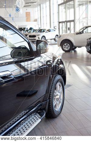 Russia, Izhevsk - February 17, 2021: Haval Showroom. New Modern Cars In Dealer Showroom. Car Manufac