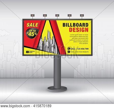 Billboard Template Design2021-no18