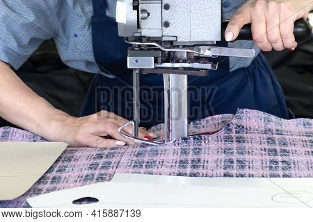 Knitwear Cutter, Sewing Production A Fabric Cage