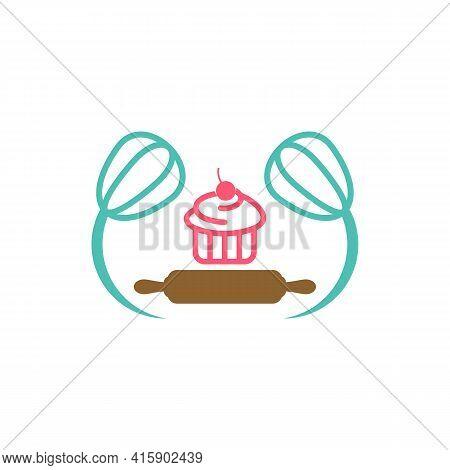 Bakery Logo Design Vector Illustration, Creative Bakery Logo Design Concept Template, Symbols Icons