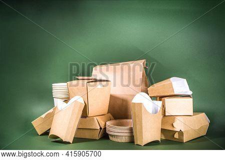 Cardboard Fast Food And Drink Packaging