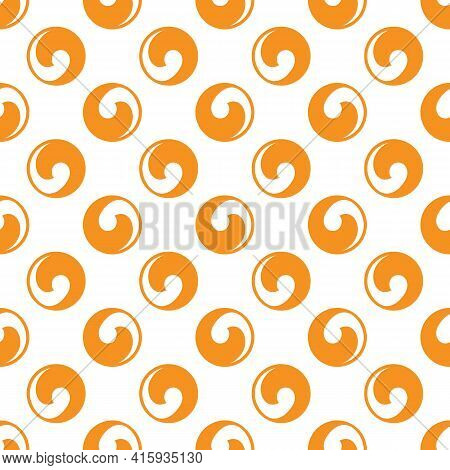 Seamless Circle Symmetrical Abstract Pattern. Branding. Background For Package Product, Wallpaper, W