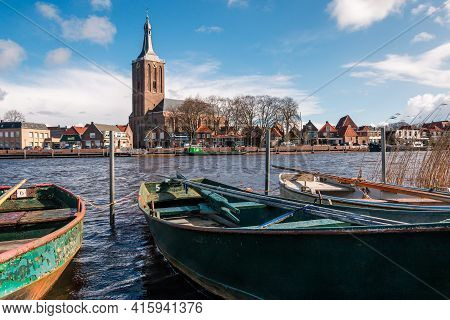The Hanseatic Town Of Hasselt, An Ancient City On The River