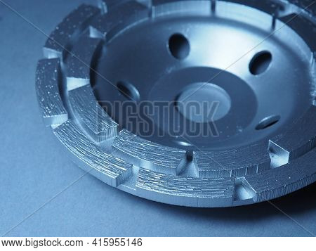 Diamond Grinding Cup. Grinding And Polishing Of Hard Surfaces