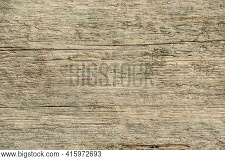 Wooden Textured Background With Copy Space For A Message And No Text