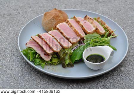 Tuna Salad, Grilled Tuna Salad Or Burnt Tuna Salad