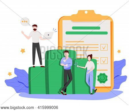 Management System Abstract Concept Vector Illustration. Business Hierarchy, Bottleneck Analysis, Dec