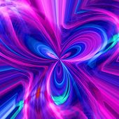 Abstract background with a multi-coloured pattern close up poster