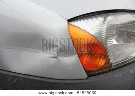 Dented Car