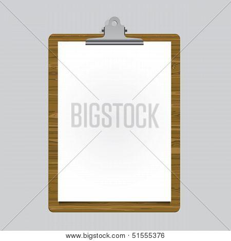 Poster-bulldog-clip-tablet