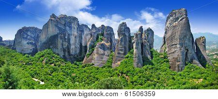 Meteora rocks, Greece