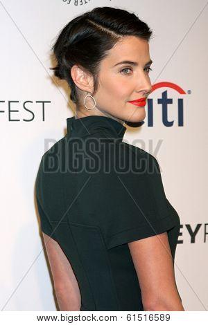LOS ANGELES - MAR 15:  Cobie Smulders at the PaleyFEST -