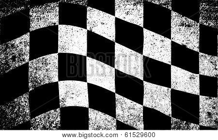 Dirty Race Flag