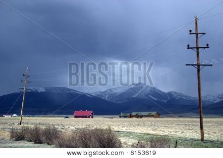 A Red House in Colorado