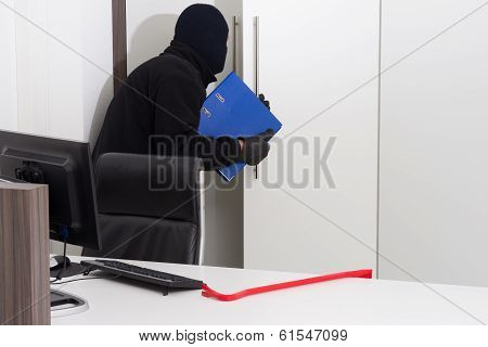 Thief Stealing Company Info