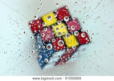 A Rubik's Cube As Seen Through The Eyes Of A Hundred Eyes