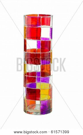 Jazzy Colored Glass