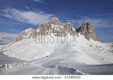 Val Di Fassa. Dolomites, Italy