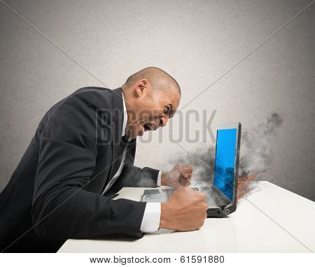 Blue Screen Computer Error