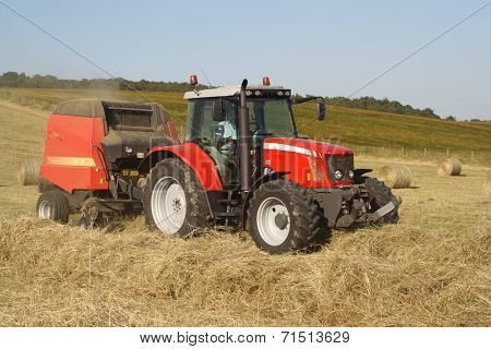 Haymaking in Scotland