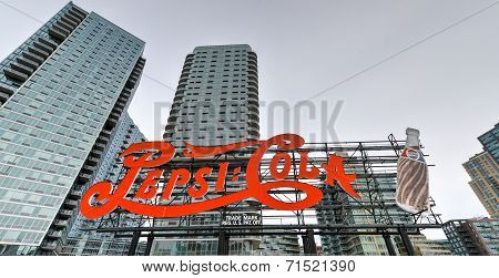 Pepsi Cola Sign, Long Island City