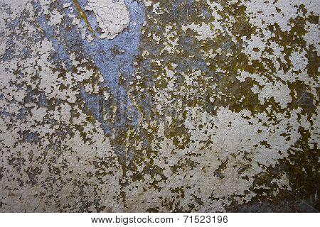 khaki and beige rusty iron texture