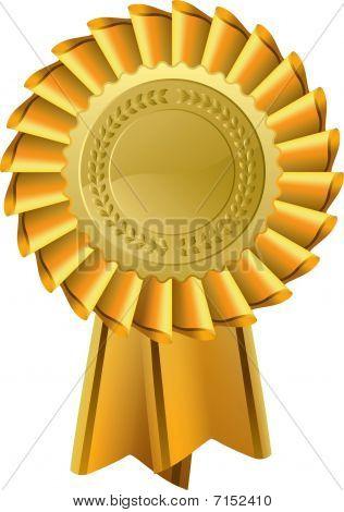 Ornato di Rosette d'oro Premio Sigillo