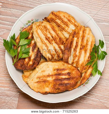 Many Meat Cutlets,