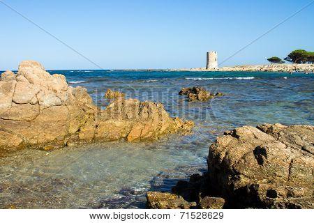 San Giovanni Beach In Sardinia