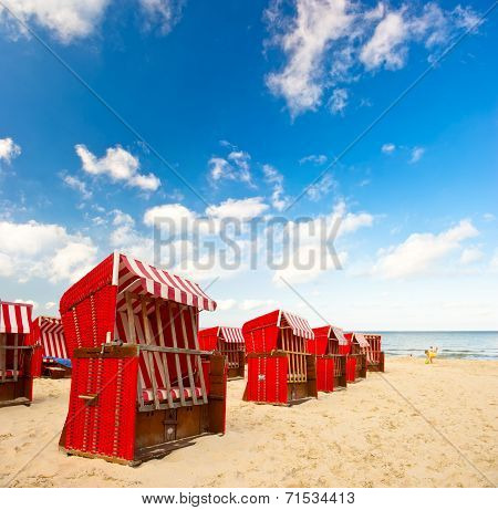 Typical Scene On The Baltic Sea
