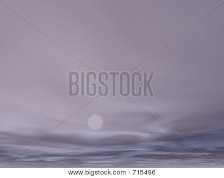 Moonrise Sky