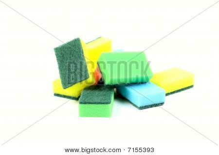 Sponges Dishwashing