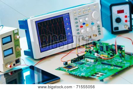 Laboratory of research microelectronics