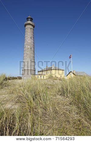 Skagen (denmark) - Lighthouse Grey Tower