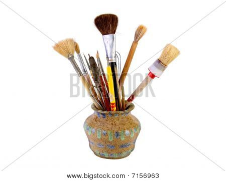 Artists Brushes & Ceramic Tools