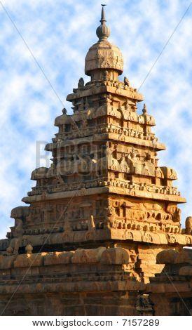 Mahabalipuram temple tower