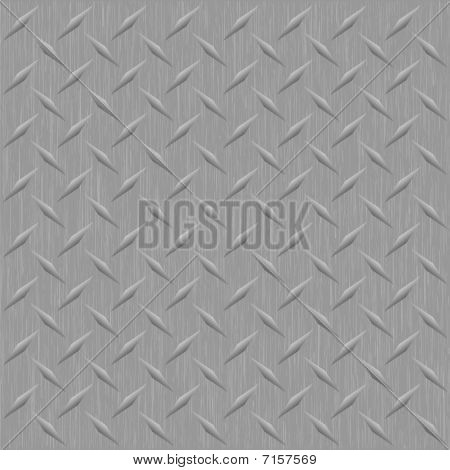 Brushed Metal Diamond Plate
