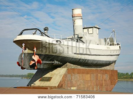 Legendary Boat Hero In Nizhny Novgorod