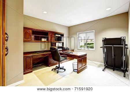 Practical Interior Design. Office Room