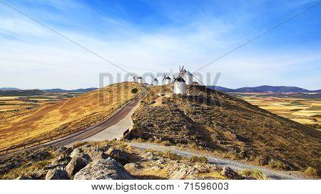 Windmills In Consuegra.