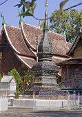 Wat Xieng thong in Luang Prabang -Laos poster
