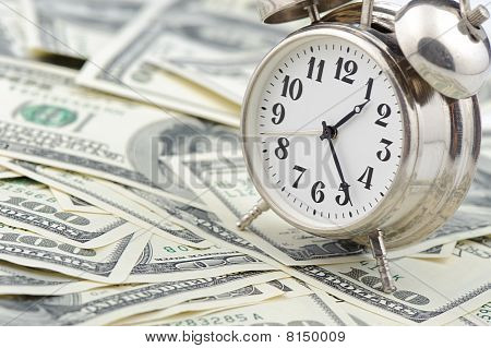 Time - Money. Business Concept.